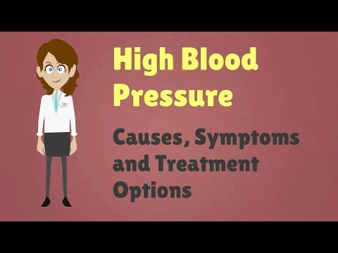High Blood Pressure – Causes, Symptoms and Treatment Options