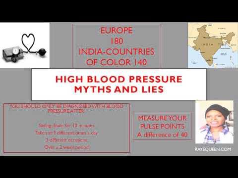 HIGH BLOOD PRESSURE MYTHS AND LIES!