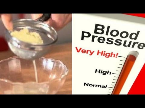 SAY GOODBYE TO HIGH BLOOD PRESSURE AND BAD CHOLESTEROL With This Traditional Medicine!