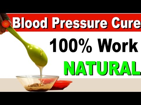 Simple Home Remedy to Get Rid Of High Blood Pressure Naturally  – 100 % Work