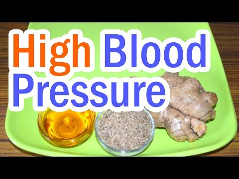 Home Remedy to Control High Blood Pressure
