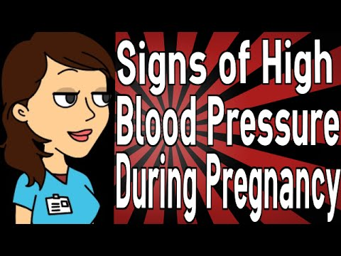 Signs of High Blood Pressure During Pregnancy