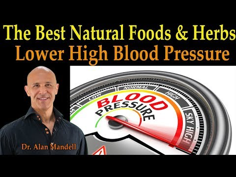 The Best Natural Foods & Herbs to Lower Your High Blood Pressure Fast –  Dr. Alan Mandell, D.C.
